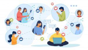 Présence sur les réseaux sociaux